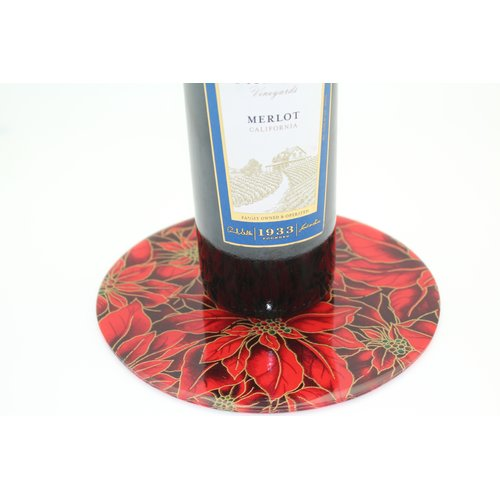 Andreas Silicone Trivets Poinsettia Trivet by