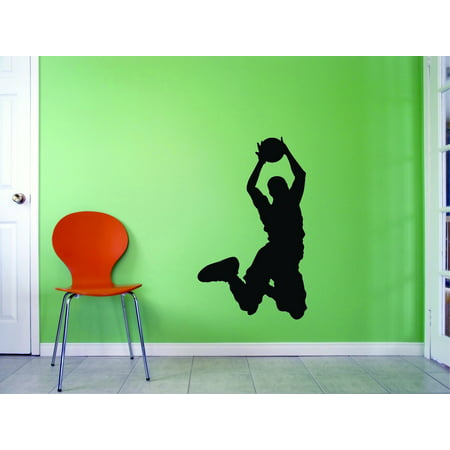 Wall Design Pieces Basketball Player Sports 20x40