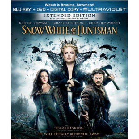 Snow White   The Huntsman  Blu Ray   Dvd   Exclusive   With Instawatch   Widescreen