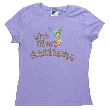 Tinkerbell - Miss Attitude Girl's T-Shirt - Tinkerbell Girls