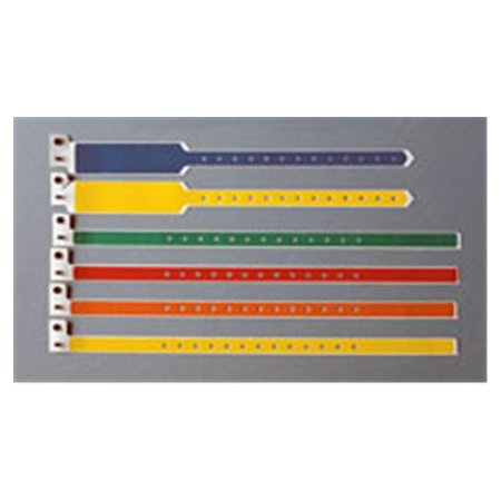 Wp000 Pt 5052 14 Pdj 5052 14 Pdj Wristband Id Poly Sentry Superband Allergy Snap Yellow 250 Bx Precision Dynamics Corp
