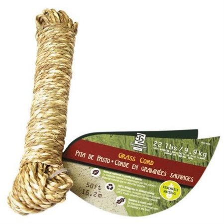 WELLINGTON CORDAGE LLC 1/8x50 NAT Grass Cord