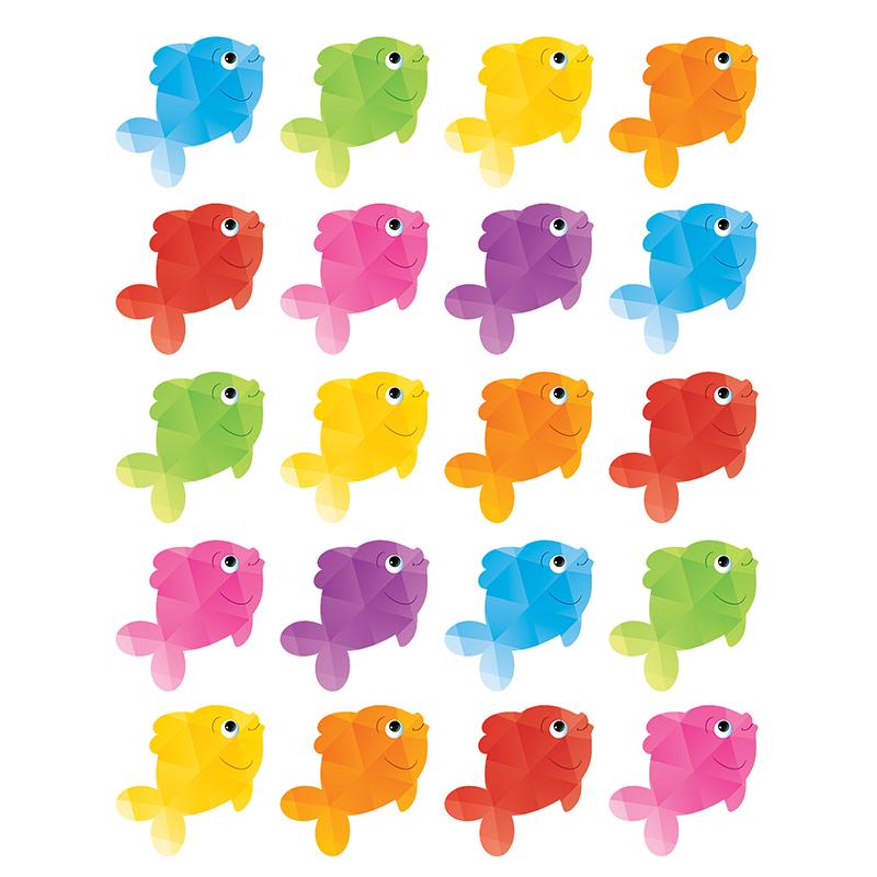 Multicolored Stickers-Reef Fish