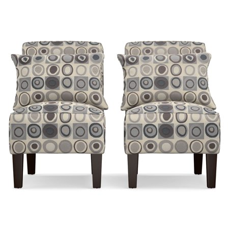 Outstanding Baja Convert A Couch And Sofa Bed With Set Of 2 Geometric Circles Dani Armless Accent Chairs Walmart Com Forskolin Free Trial Chair Design Images Forskolin Free Trialorg