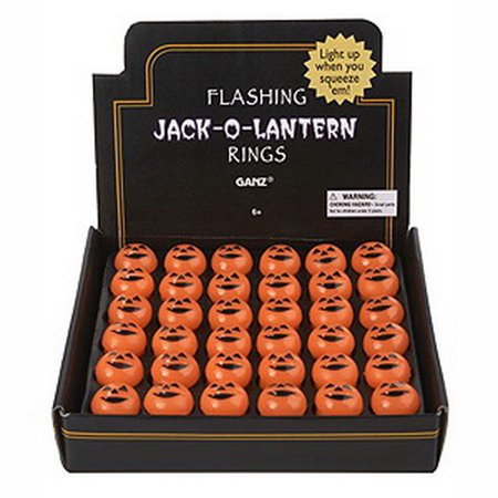 Partypro EH13860 Jack O Lantern Flashing Rings - Easy Jack O Lantern Ideas