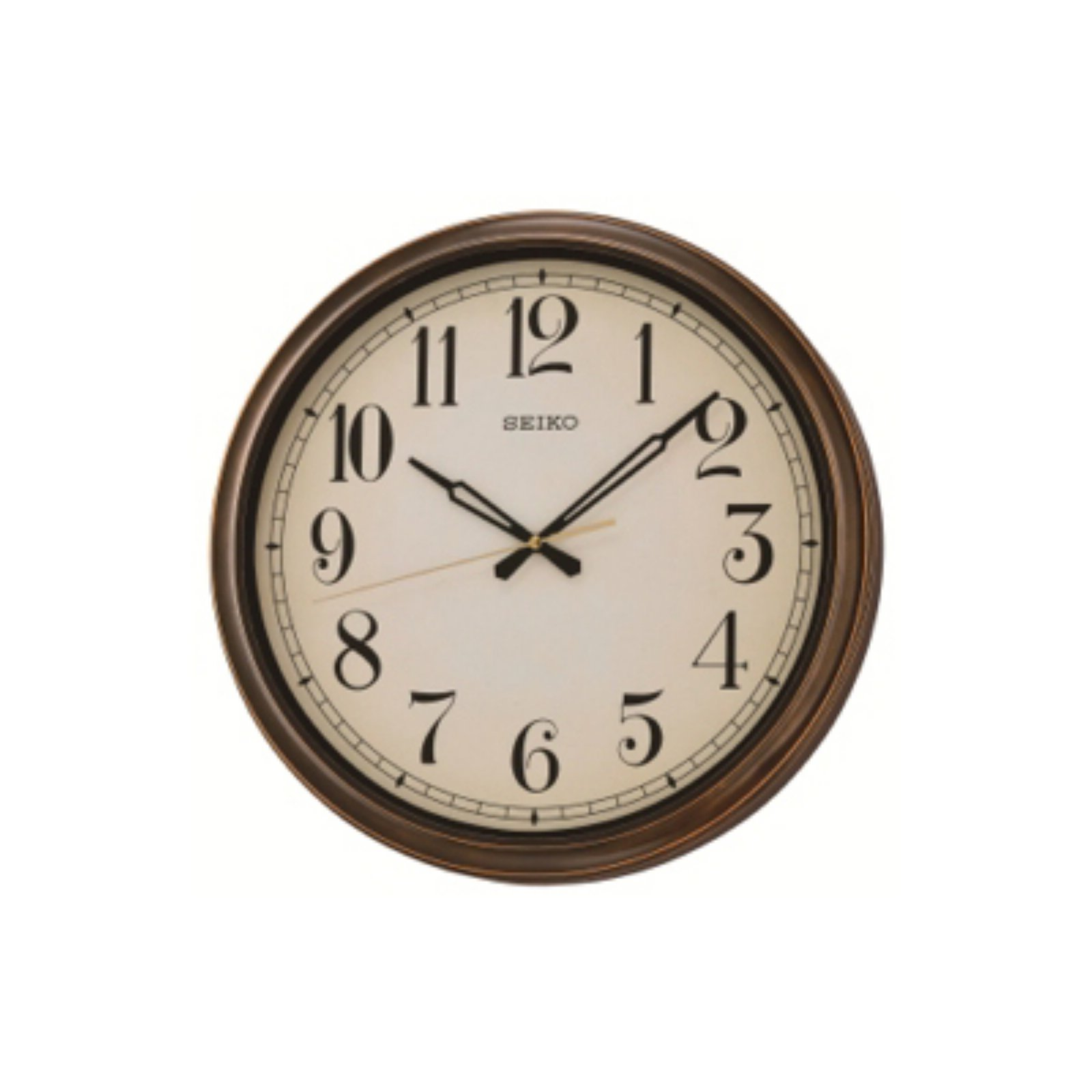 Seiko Terry Outdoor 16 in. Wall Clock