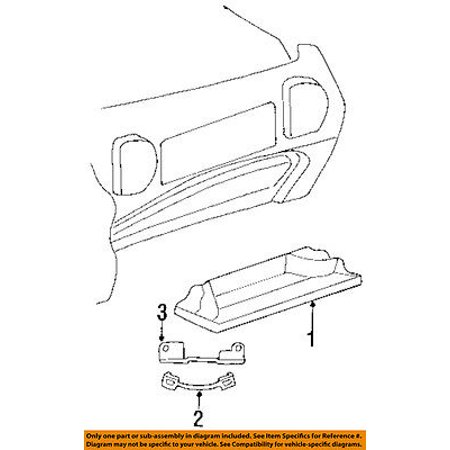 CHRYSLER OEM-Glove Compartment Box Door Check Strap 4678300AB