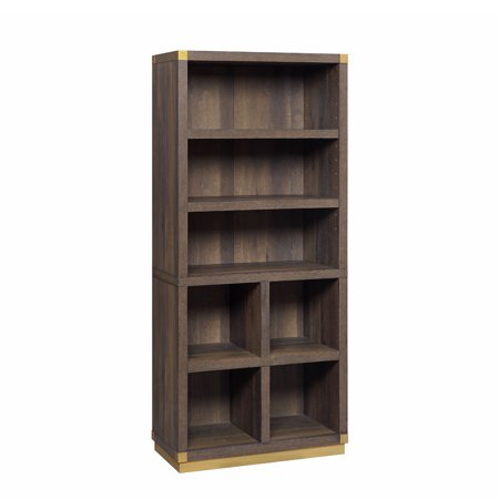 Atlas Bookshelf (Better Homes & Gardens Lana Modern Bookshelf, Toasted Brown Ash Finish)