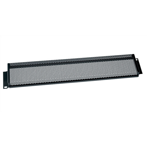 Cover Height: 1 3//4 H Security Cover for Rackmount 1U Space Perforated Steel Perforation Style: Fine Perforation