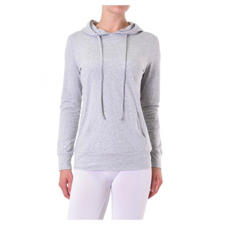 Uni Style Apparel Womens Thin Cotton Pullover Hoodie Sweater
