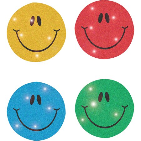 Smiley Face Charts - DAZZLE CHART SEALS SMILEY 440/PK FACES ACID/LIGNIN FREE MULTICOLOR