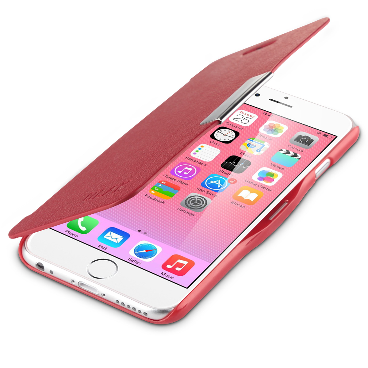 ULAK Flip Magnetic Synthetic Leather Case Cover for Apple iPhone 6 4.7 / iPhone 6s 4.7 inch