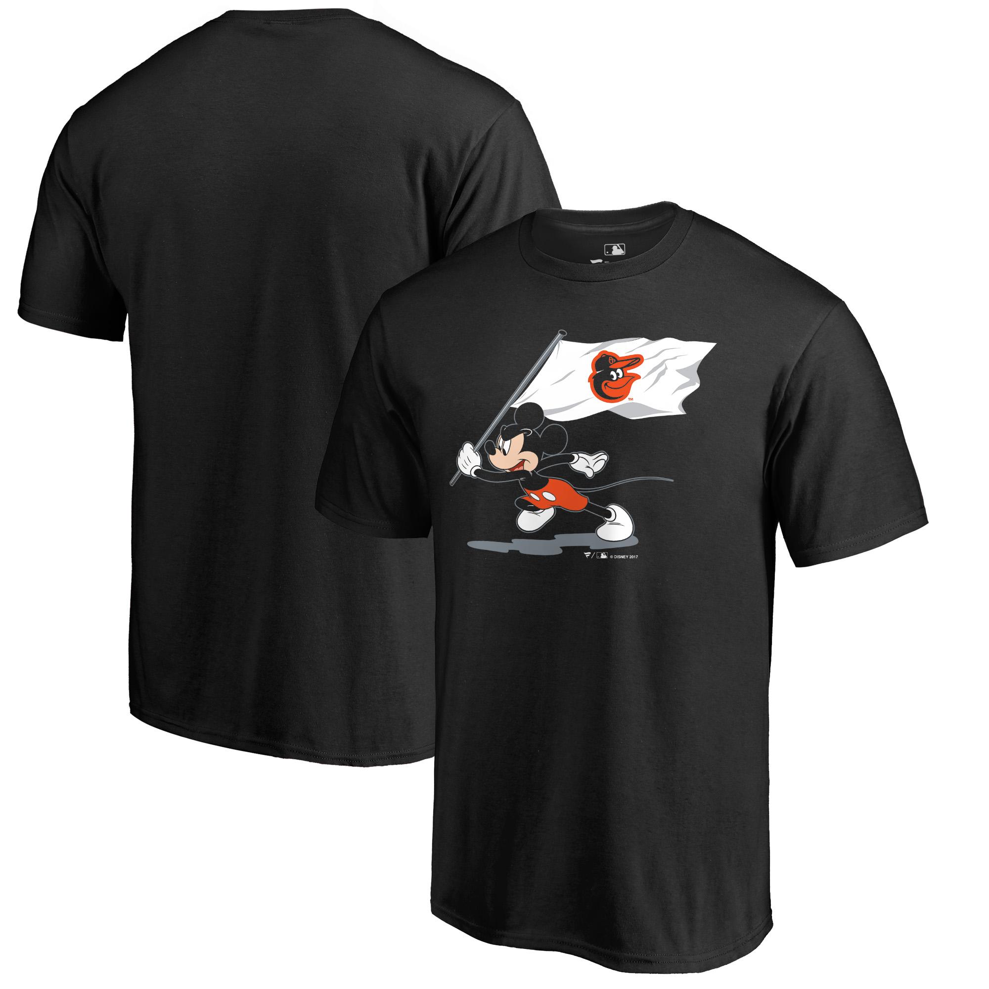 Baltimore Orioles Fanatics Branded Disney Fly Your Flag T-Shirt - Black