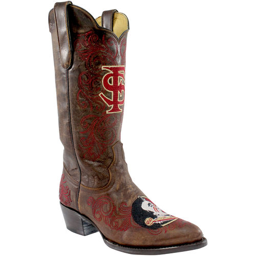 Gameday Boots Womens Florida State Round Toe Pull-on FSU-L324-2 by Gameday Boots