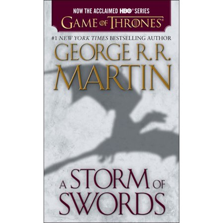 A Storm Of Swords  Hbo Tie In Edition   A Song Of Ice And Fire  Book Three