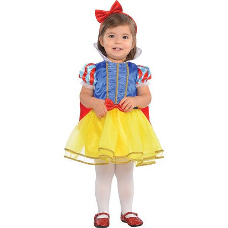 Baby Fairy Tale Costumes (Suit Yourself Classic Snow White Halloween Costume for Babies, Includes)