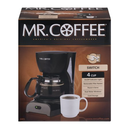 Mr. Coffee America's Original Coffeemaker 4 Cup, 1.0 CT