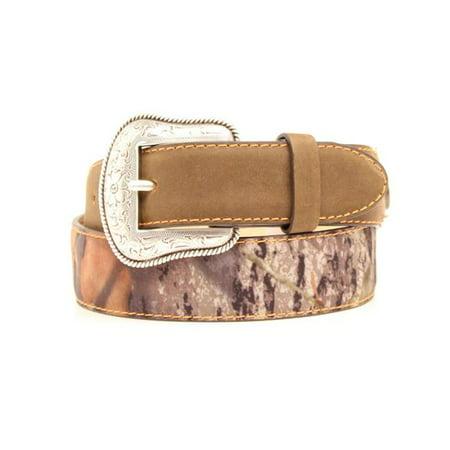 Nocona N44174222-22 1.25 in. Camo Shots Shell Boys Belt, Mossy Oak - Size 22 - image 1 of 1