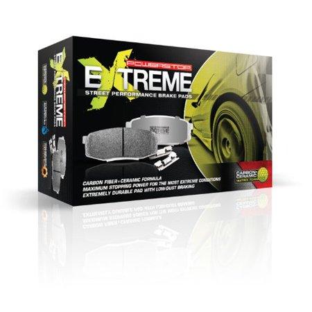 Power Stop Z26-1185F Z26 Street Warrior Carbon Fiber-Ceramic Brake Pad -Front