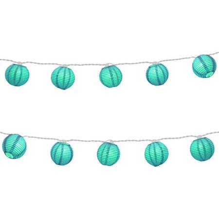 Paper Lantern String Lights Nz : LumaBase Luminarias Electric String Lights with 3