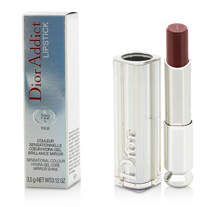 Christian Dior - Dior Addict Hydra Gel Core Mirror Shine Lipstick #722 True - 3.5g/0.12oz