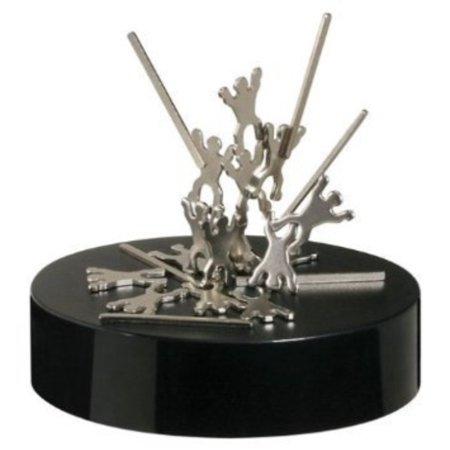 Magnetic Desktop Sculpture - Acrobatic Troupe by Toysmith (Top Sculpture)
