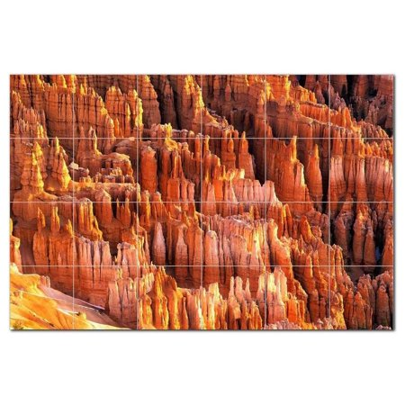 Canyon Photo Ceramic Tile Mural Kitchen Backsplash Bathroom Shower 404