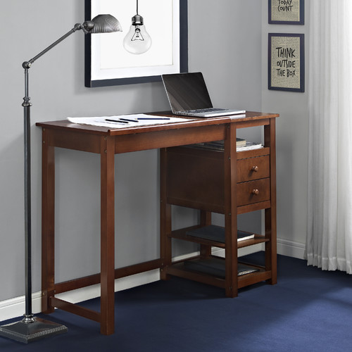 Dorel Home Drafting and Craft Desk, Espresso