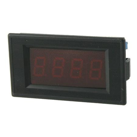 Unique Bargains Unique Bargains DC 0-20A 3 1/2 Digital Red  Display Ammeter Ampere Panel - Half Tester