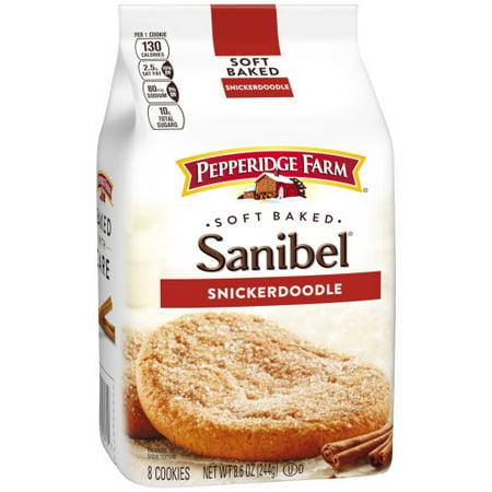 Pepperidge Farm Sanibel Soft Baked Snickerdoodle Cookies, 8.6 oz. Bag