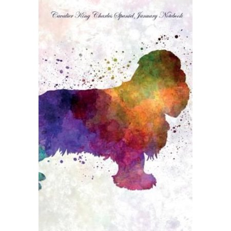 Cavalier King Charles Spaniel January Notebook Cavalier King Charles Spaniel Record  Log  Diary  Special Memories  To Do List  Academic Notepad  Scrapbook   More
