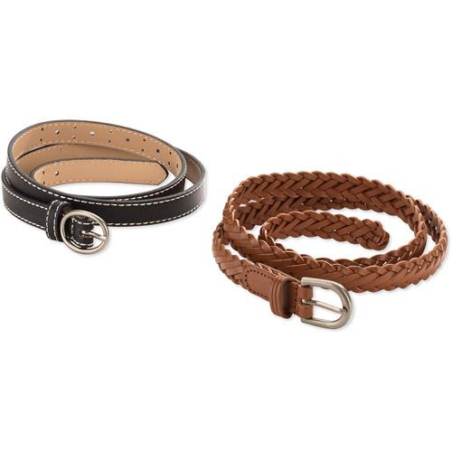 Women's 2 Pack Casual Belt