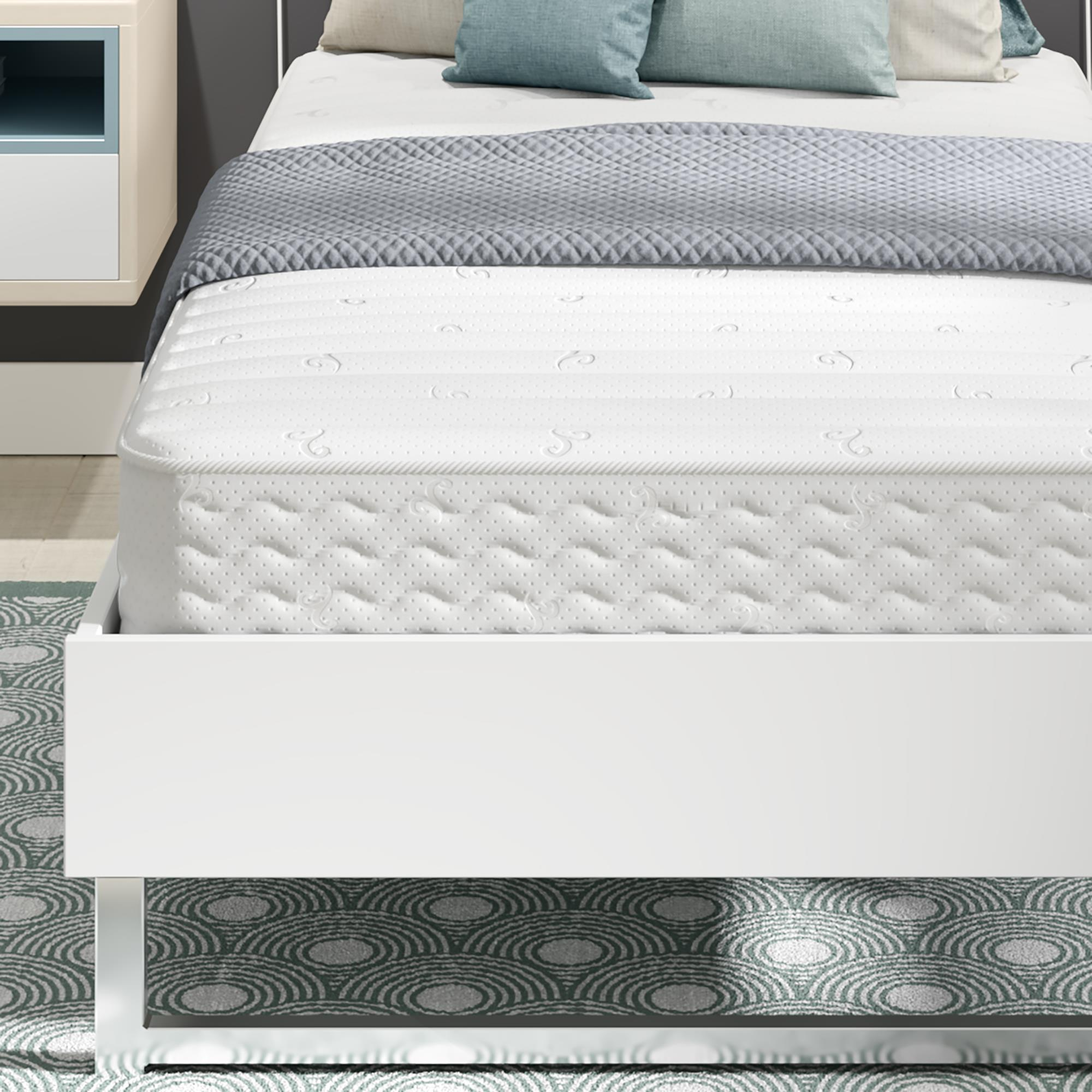 """Signature Sleep Contour- 8"""" Independently-Encased Coil Mattress, Multiple Sizes by DHP"""