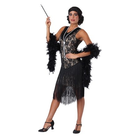 Speakeasy Flapper Women's - Speakeasy Party Attire