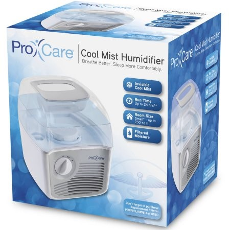 Walmart Humidifier No Filter procare white 1 gal. cool mist humidifier - walmart
