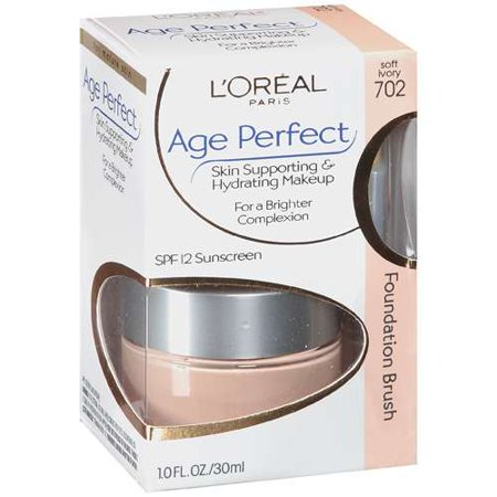 Loreal Paris Age Perfect Skin Supporting & Hydrating Makeup For Mature Skin - Soft Ivory
