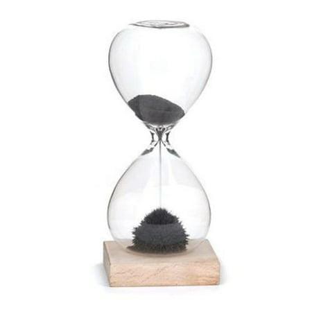 kikkerland magnetic sand hourglass 1 minute timer walmart com