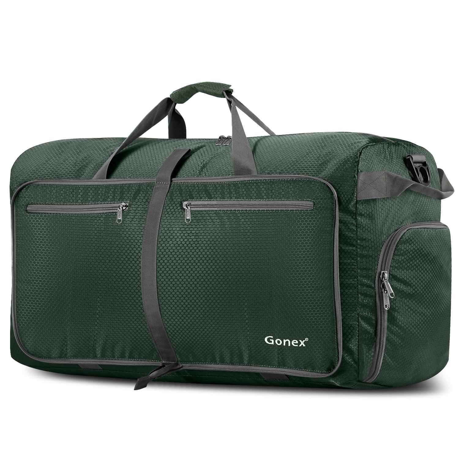 a9a8ce39dfe4 Gonex 100L Lightweight Foldable Travel Duffel Bag,Waterproof Travel Luggage