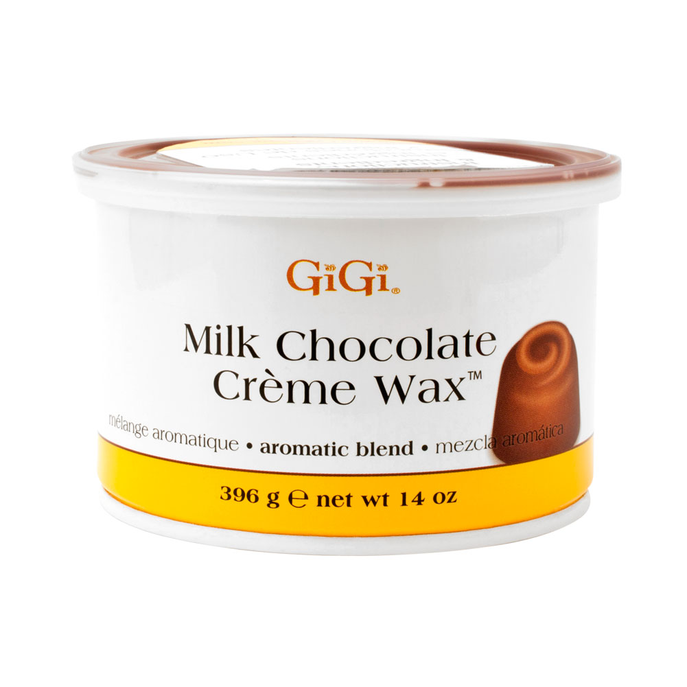 GiGi 14oz Milk Chocolate Creme Wax Hair Removal Depilatory, 0251