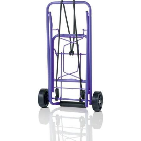 Conair Travel Smart TS36 Folding Luggage Cart w/ 75 lb Capacity ...