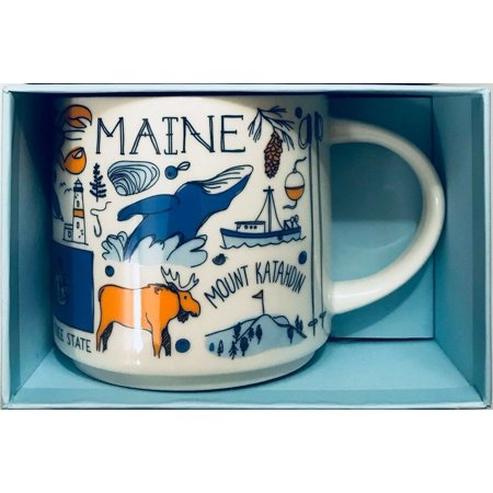 Starbucks Been There Series Collection Maine Coffee Mug New With Box ()