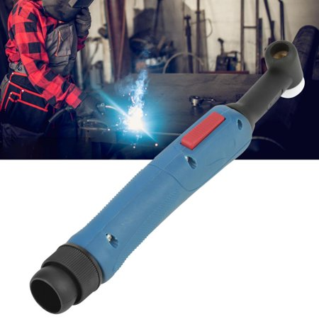 - WP-26F SR-26F Tig Welding Torch Gas Cooled Flexible Head Body with Switch Button, Tig Welding Torch Head,Welding Torch Head