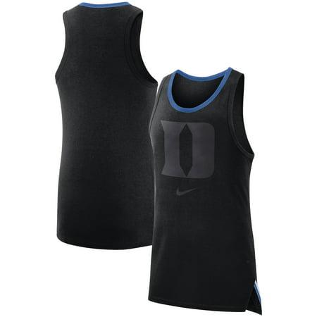 Duke Blue Devils Nike Elite Performance Sleeveless Top - Black