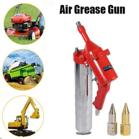 LAFGUR One-Hand Pistol Grip Air Grease Gun Delivers 1200-6000psi w/ Extension Set