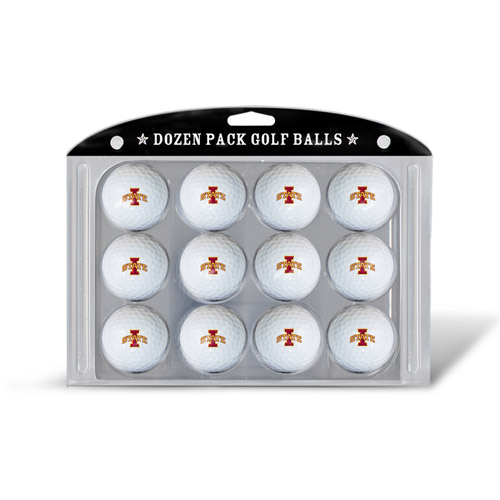 Team Golf NCAA Iowa State Golf Balls, 12 Pack