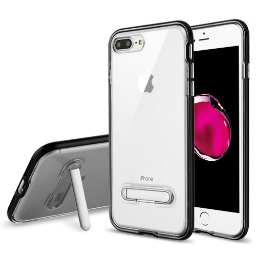 MUNDAZE Black Candy Acrylic Magnetic Stand Case For Apple iPhone 7 PLUS
