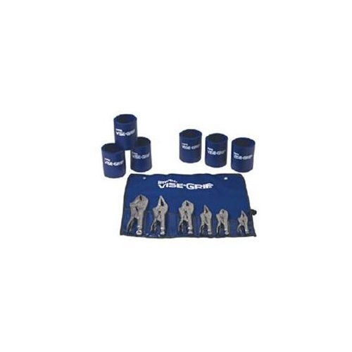 Vise Grip 641 6 Piece Locking Pliers Set With 6 Koozie Cups by Vise Grip