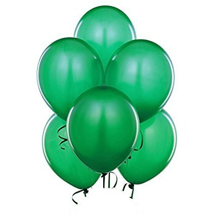 Balloons 17 Inch PARTY-TEX Premium Red Latex Pkg/50