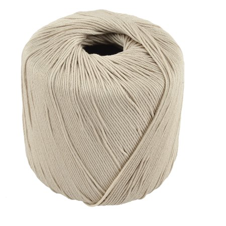 DIY Craft Scarf Hat Embroidery Crochet Hand Knitting Cotton Yarn Thread White