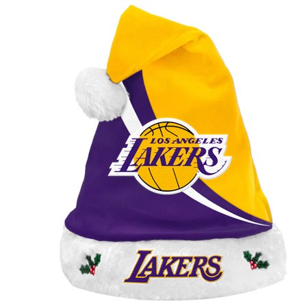 Forever Collectibles NBA Swoop Logo Santa Hat